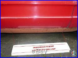 2X Côté Marchepied Extérieur Alfa Romeo 105 115 Spider 66-93 Gauche Droite