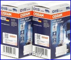 2X Osram D1S Lampe à Décharge de Gaz Xenon Phares 6000K Xenarc Cool Bleu Intense