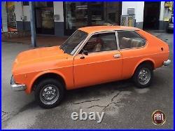 2X en dehors de Miroir Fiat 124 128 130 SPIDER Universel Large Pied LH Rh Ovale