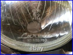 2 original restored Carello headlights Alfa 2600 & 2000 Touring 00.500.816