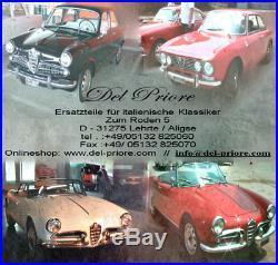 4X Original Spica Golden Lodge 2HLDR Bougies Alfa Romeo Spider Giulia Alfetta