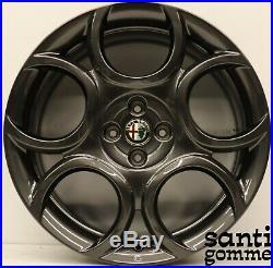 4 Jantes en Alliage Alfa Romeo Mito 18 Original Nouveaux Anthracite 50539265