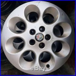 4 Jantes en Alliage Original Alfa Romeo 156 15 Pl