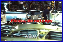 5 diapositives originales usine ALFA-ROMEO 1966 Giulia original color slides