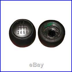 6 Vitesses Noir Pommeau Levier Cuir Original 55347088 Alfa Romeo Gt 147 166