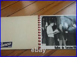 Album 10 PHOTOS Presse Originale 1966 ALFA ROMEO GIULIA GTA Rallye Lorraine