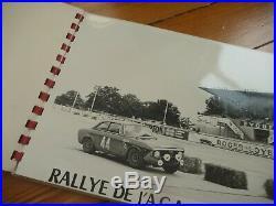 Album 11 PHOTOS Presse Originale 1967 ALFA ROMEO GIULIA GTA Rallye AGACI