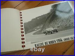 Album 6 PHOTOS Presse Originale 1966 ALFA ROMEO GIULIA GT SPRINT Rallye Rouen