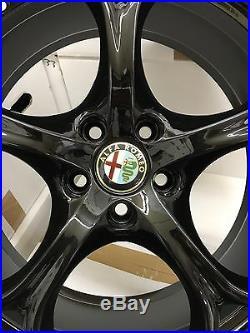 Alfa Original Giulia QV Veloce Jantes 159 Roues jantes Velgen Cerchi 19 Noir