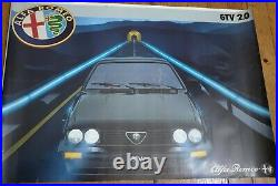 Alfa Romeo vers 1980 Affiche Originale