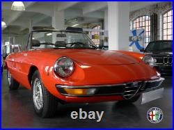 Capot Obturateur Soft Top Alfa Romeo 105/115 Spider 66-84 Chrome Rare Neuf
