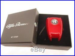 Coque Etui Clé Alfa Romeo Giulia Stelvio Original Rouge Compétition Logo