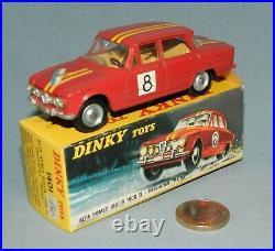 Dinky Toys France Originale 1/43 réf 1401 Alfa Romeo 1600 Rallye