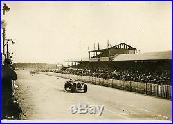 Earl HOWE-BIRKIN /ALFA ROMEO LE MANS 1931 Photo originale G. DEVRED (Agce ROL)
