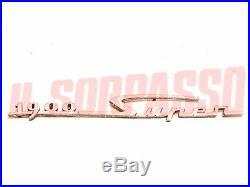 Écrit Emblème Garde-Boue avant Alfa Romeo 1900 Super Neuf Originale