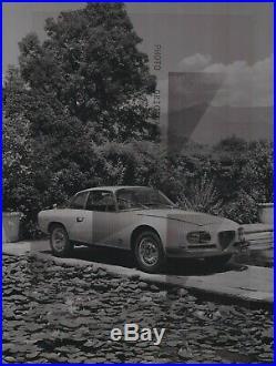 FOTO PHOTO Presse Originale ALFA ROMEO 2600 SZ ZAGATO NO Brochure Prospekt