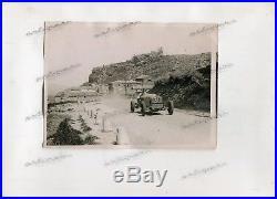 FOTO PHOTO originale Presse 1930 ALFA ROMEO 6C TARGA FLORIO No Brochure Document