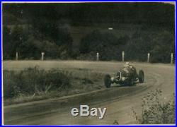 FOTO PHOTO presse Originale 1937 GP SPA Belgium ALFA ROMEO FERRARI No Brochure