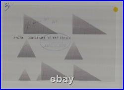 FOTO PHOTO presse Originale ALFA ROMEO 12C 1937 No Brochure Prospekt Document