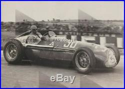 FOTO PHOTO presse Originale ALFA ROMEO 158 Scuderia FERRARI 1938 No Brochure