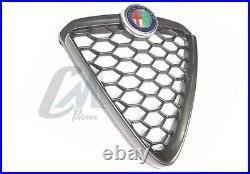 Grille Masque Bruni Noir Avant Alfa Romeo Mito'16 Original 156114853