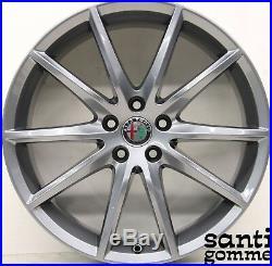 Jantes en Alliage Alfa Romeo Stelvio 19 Original 156117308 Anthracite Poli