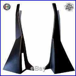 Kit Capot B Colonne Alfa Romeo Spider 105/115 Année de Construction 70-86 Noir