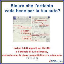 Kit pour Courroie de Distribution+Pompe à Eau Original Alfa Giulia Stelvio 2.2D