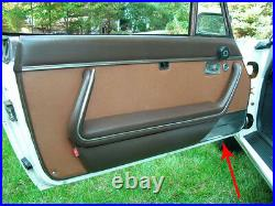 Lot Porte Revêtement Original Peugeot 504 Cabriolet Coupé Chrome Ré Li