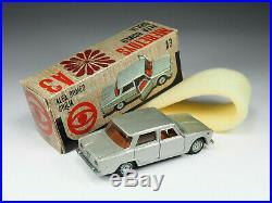 Mebetoys A3 Alfa Romeo Giulia met. Grey brown int. In original box Mint
