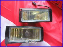 Original Alfa Romeo 75 33 Lot Phares Antibrouillard Jaune 60528793 60528795 Neuf