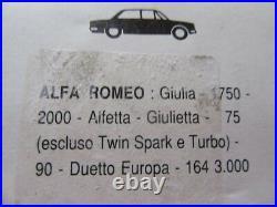 Original Alfa Romeo Type 105+116 Susciter Taux Doré Lodge Hl (4 Pièce) Neuf