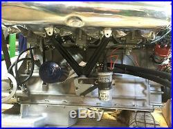 Original Solex PHH44 + plenum + support Alfa 2600 Spider Touring & Coupé 190SL