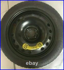 Original roue de secours (galette) 16 pour FIAT 500 ABARTH 595 (NO ESSESSE)