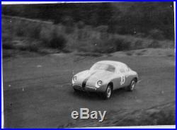 PHOTO FOTO Originale 1959 ALFA ROMEO ZAGATO GIULIETTA VELOCE 1000km Nurburgring
