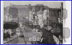 PHOTO FOTO Originale Presse 1935 GP MONACO Scuderia FERRARI ALFA ROMEO P3 CHIRON