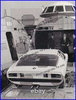 PHOTO FOTO Originale Presse 1960's ALFA ROMEO MONTREAL 24x18cm No Brochure