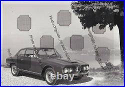 PHOTO FOTO Originale Presse ALFA ROMEO 2600 SPRINT COUPE BERTONE NO Brochure