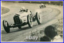 PHOTO FOTO Presse Originale 1934 ALFA ROMEO P3 ou P2 GP Race Course Brochure