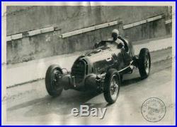 PHOTO FOTO presse Originale 1935 GP NICE NUVOLARI ALFA ROMEO TIPO B No Brochure