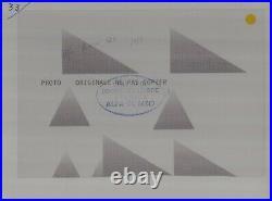 PHOTO FOTO presse Originale ALFA ROMEO 12C 1937 No Brochure Prospekt Document