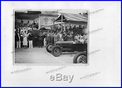 PHOTO Foto Presse originale 1934 ALFA ROMEO P3 GP Italie Monza Brochure