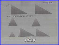 PHOTO Originale Presse 1961 ALFA ROMEO 2000 SPRINT COUPE BERTONE NO Brochure
