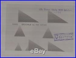 PHOTO Originale Presse ALFA ROMEO CANGURO 1600 TUBOLARE BERTONE NO Brochure