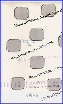 PHOTO presse Originale 1934 PININFARINA ALFA ROMEO 6C CABRIOLET 1750 TURISMO