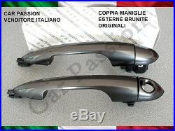Paire Poignées Alfa Romeo Giulietta Mito Original Bruni Porte Dx SX Nouveau