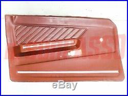 Panneaux Port Front De Gauche Alfa Romeo Alfa Sud Rouge Original