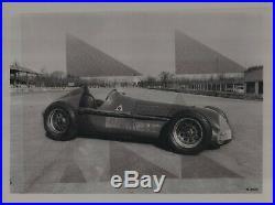 Photo Foto presse Originale ALFA ROMEO 12C 1937 No Brochure