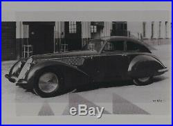 Photo Foto presse Originale ALFA ROMEO 2900B 8C TOURING 1938 No Brochure