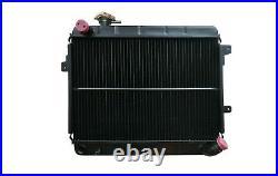 Refroidisseur D'Eau Radiateur Fiat 124 Spider Pininfarina 2000 Ie Automatique
